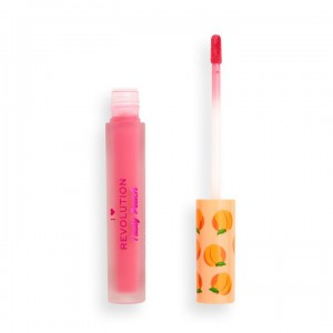 I Heart Revolution - Flüssiger Lippenstift - Tasty Peach Soft Peach Liquid Lipstick - Princess