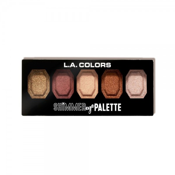 LA Colors - Eyeshadow Palette - Shimmer Eye Palette - Beam Me Up