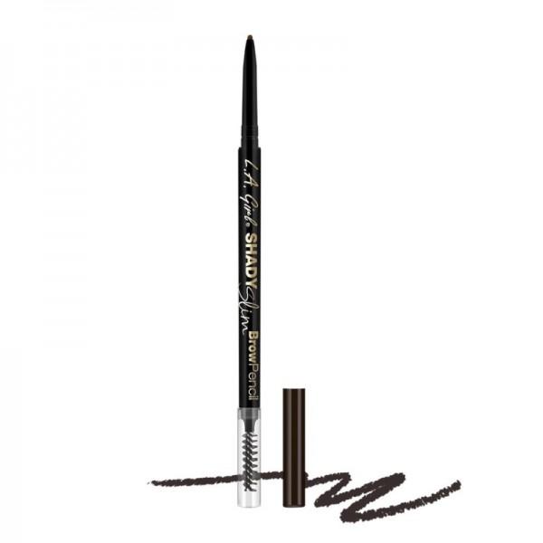L.A. Girl - Brow Pencil - Shady Slim Pencil - Blackest Brown