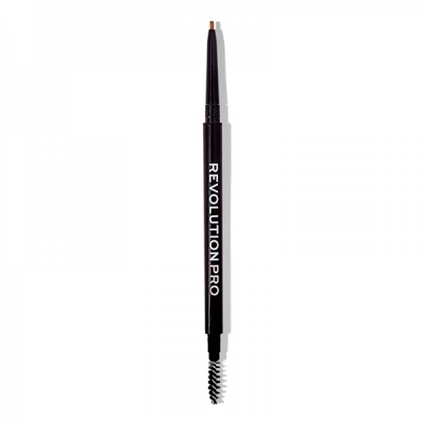 Revolution Pro - Microblading Precision Eyebrow Pencil - Medium Brown