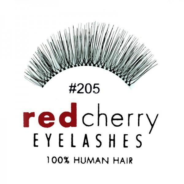 Red Cherry - False Eyelashes No. 205 Therese - Human Hair