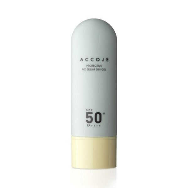 Accoje - Protective No Sebum Sun Gel - SPF 50+ PA++++