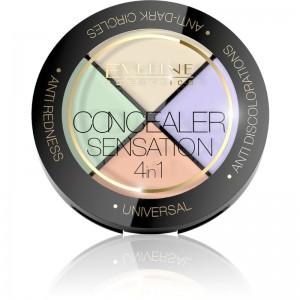 Eveline Cosmetics - Concealer - Concealer Sensation 4In1