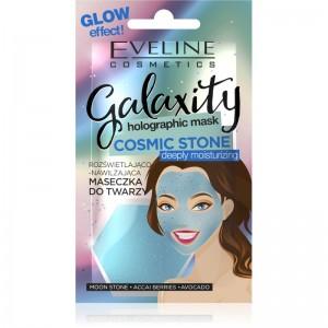 Eveline Cosmetics - Gesichtsmaske - Galaxity holographic Mask Cosmetic Stone moisturizing