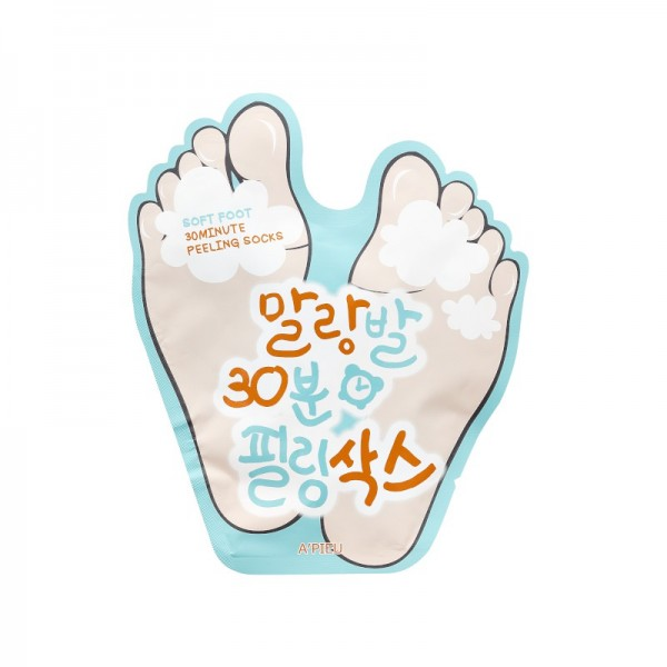APIEU - Fußmaske - Soft Foot - Peeling Socks