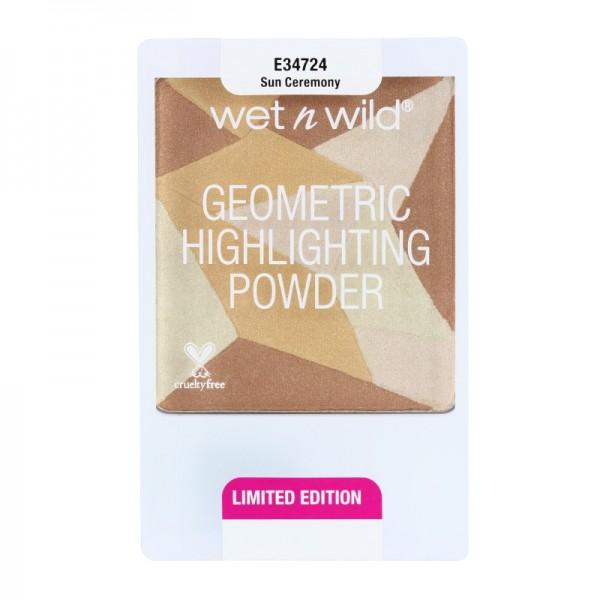 wet n wild - Highlighter - Geometric Highlighting Powder - Sun Ceremony