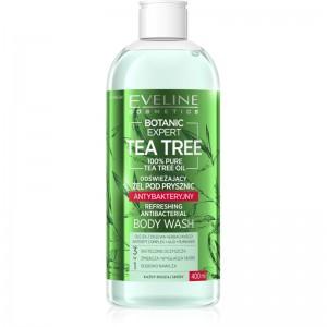 Eveline Cosmetics - Gel doccia - Botanic Expert Tea Tree Refreshing Antibacterial Body Wash - 400ml