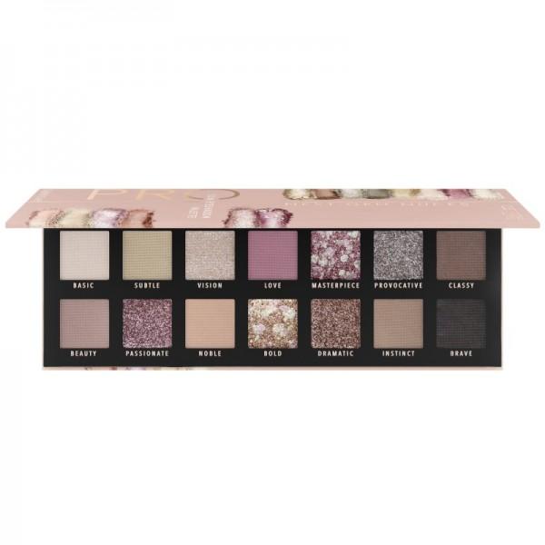Catrice - Lidschattenpalette - Pro Next-Gen Nudes Slim Eyeshadow Palette 010 - Courage Is Beauty