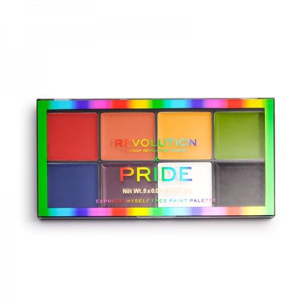Revolution - Makeuppalette - X Pride Face Paint Palette - Express Myself