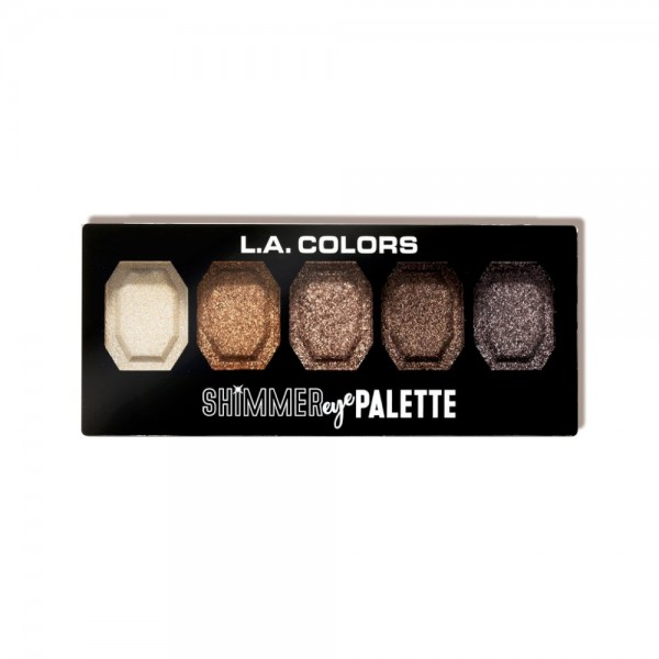 LA Colors - Eyeshadow Palette - Shimmer Eye Palette - Sparkle & Shine