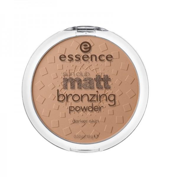 essence - sun club matt bronzing powder - 02 sunny