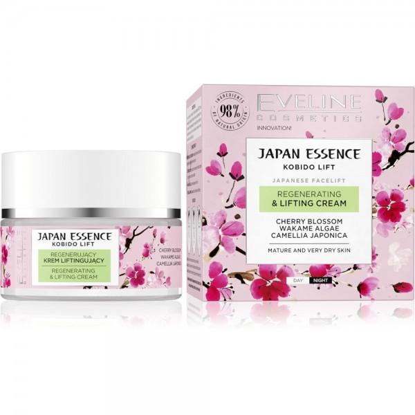 Eveline Cosmetics - Gesichtscreme - Japan Essence - Regenerating  & Lifting Cream - 50ML