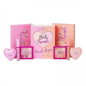 I Heart Revolution - Geschenkset - Best Friends Break Hearts Gift Set