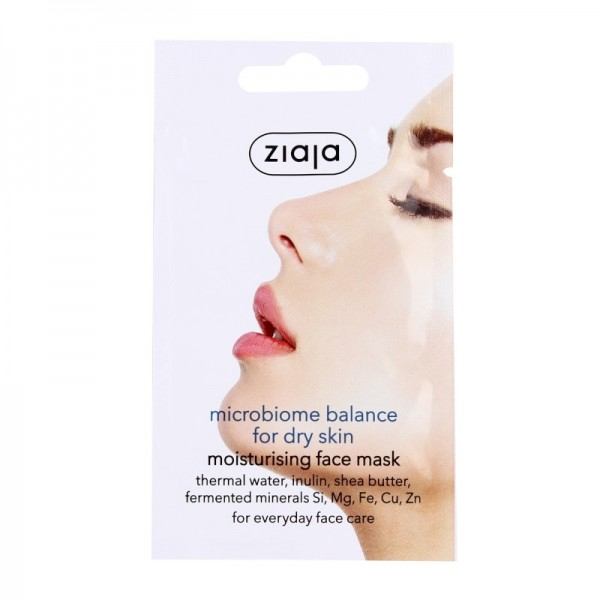 Ziaja - Gesichtsmaske - microbiome balance face mask - for dry skin