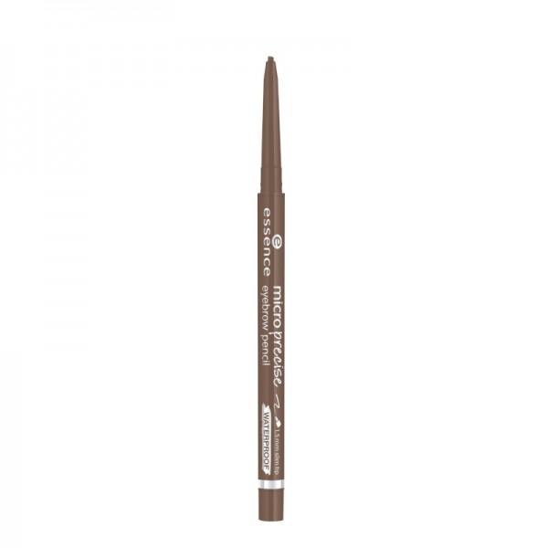 essence - micro precise eyebrow pencil - 02 light brown