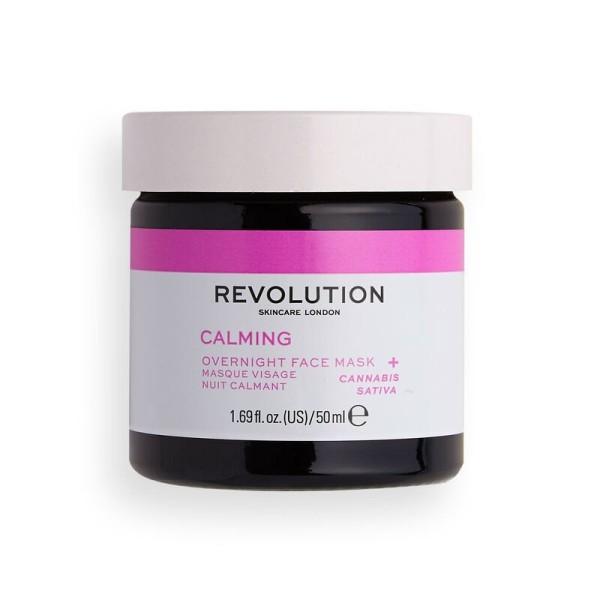 Revolution - Gesichtsmaske - Skincare Stressed Mood Calming Overnight Face Mask