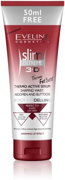Eveline Cosmetics - Bodylotion - Slim Extreme 3D Thermo Active Serum Shaping Waist, Abdomen, Buttock
