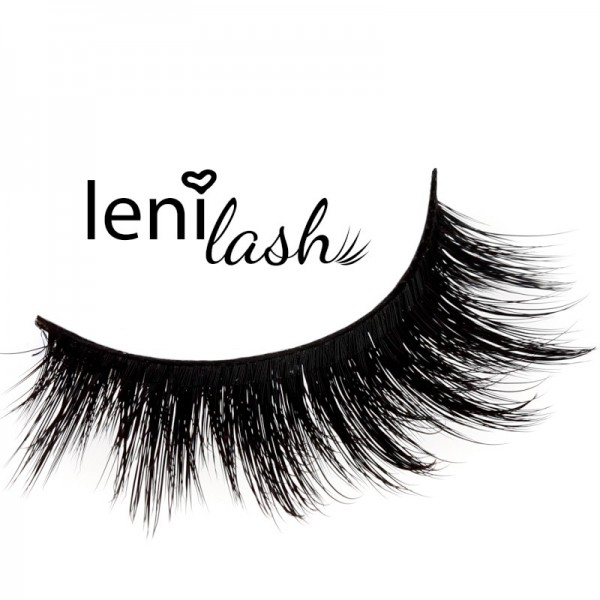 lenilash - 3D-Wimpern - Schwarz - Power