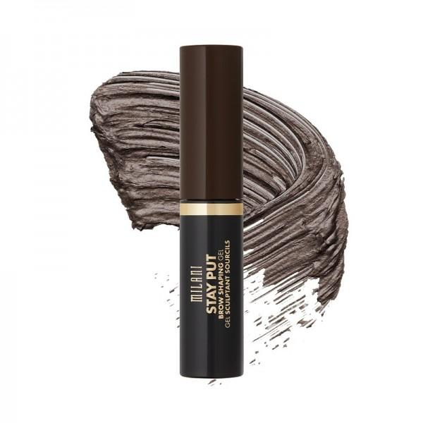 Milani - Augenbrauengel - Stay Put Brow Shaping Gel - 05 Dark Brown