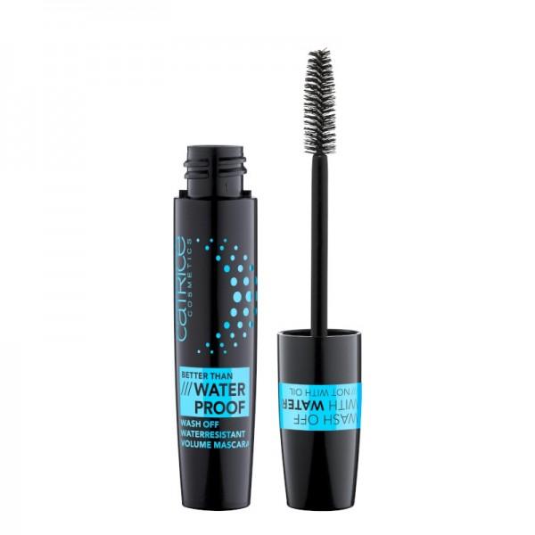 Mascara Better Than Waterproof Wash Off Waterresistant Volume Mascara 010 Black