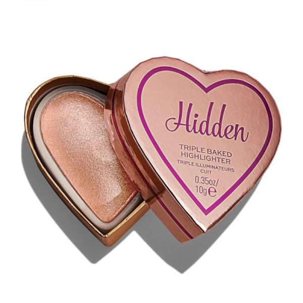 I Heart Revolution - Highlighter - Glow Hearts Hardly Hidden