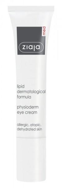 Ziaja Med - Eye Cream - Lipid Formula Physioderm Eye Cream