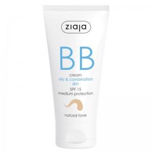 Ziaja - Gesichtspflege - BB Cream - Oily and Combination Skin - Natural Tone SPF15