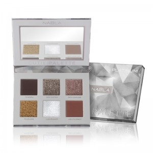 Nabla - Tavolozza ombretti - Cutie Collection - Cutie Palette - Platinum