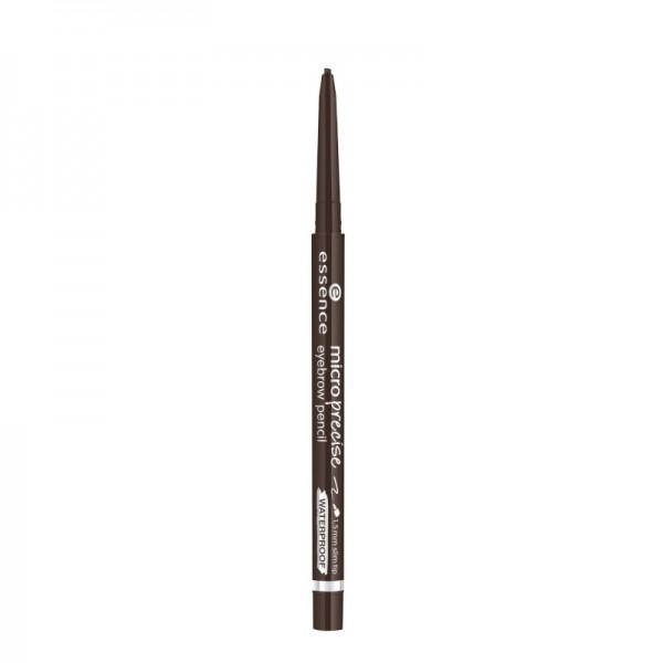 essence - Augenbrauenstift - micro precise eyebrow pencil - 03 dark brown