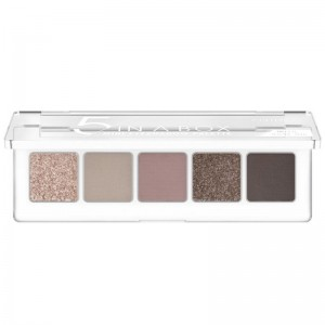 Catrice - Palette ombretti - 5 In A Box Mini Eyeshadow Palette - 020 Soft Rose Look