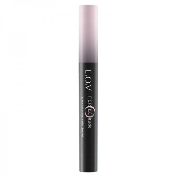 L.O.V - Lippenpeeling - PERFECTITUDE Black Lip Scrub 300 Unconventional
