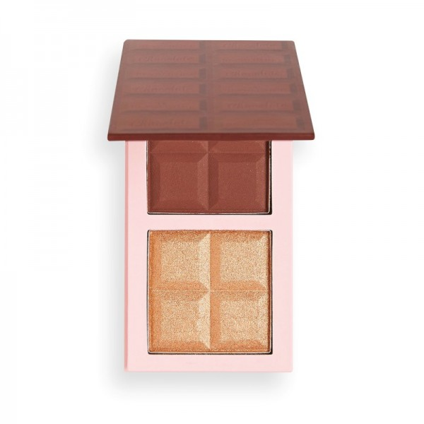 I Heart Revolution - Chocolate Contour Palette - Deep