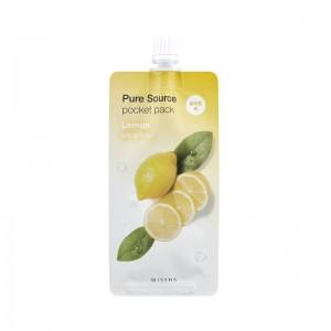 MISSHA - Gesichtsmaske - Pure Source Pocket Pack - Lemon