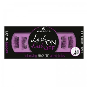 essence - Falsche Magnetwimpern - lash on lash off volumizing magnetic accent lashes 01