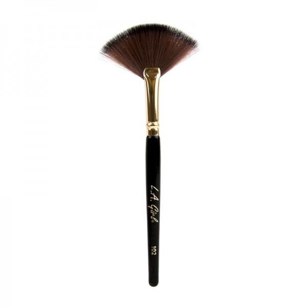 L.A. Girl - Kosmetikpinsel - Fächerpinsel - Fan Brush - 102