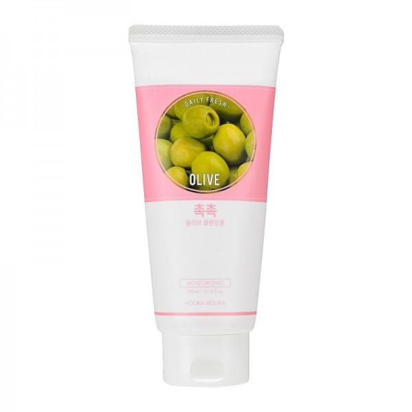 Holika Holika - Gesichtsreiniger - Daily Fresh Olive Cleansing Foam - 300 ml