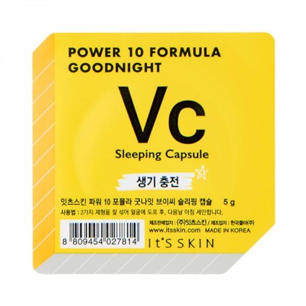 Its Skin - Gesichtsmaske - Power 10 Formula Goodnight Sleeping Capsule VC
