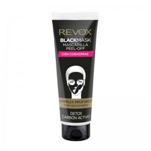 REVOX - Gesichtsmaske - Black Peel Off Mask - Co-Enzymes