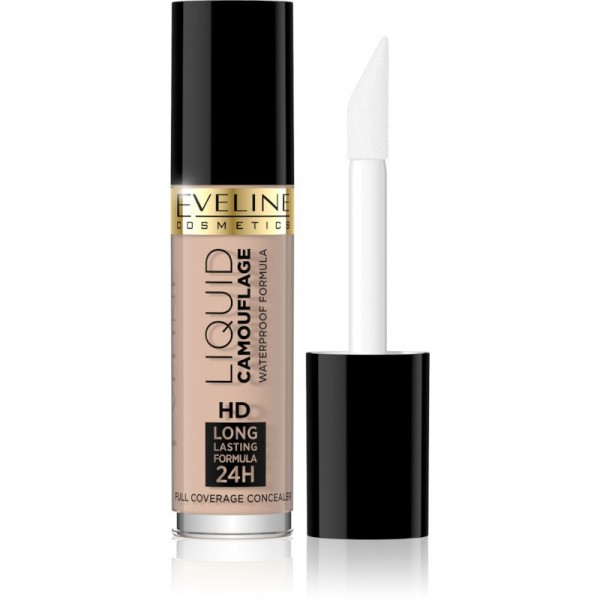 Eveline Cosmetics - Concealer - Liquid Camouflage Full Coverage Concealer - 01A Light Beige