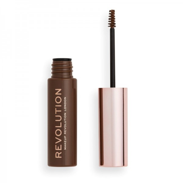 Revolution - Augenbrauengel - Brow Gel Medium Brown