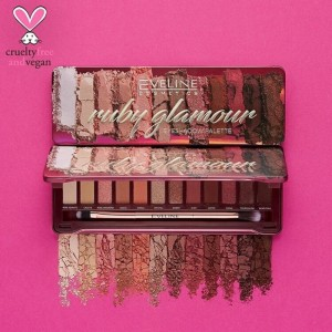 Eveline Cosmetics - Palette di ombretti - Eyeshadow Palette - Ruby Glamour