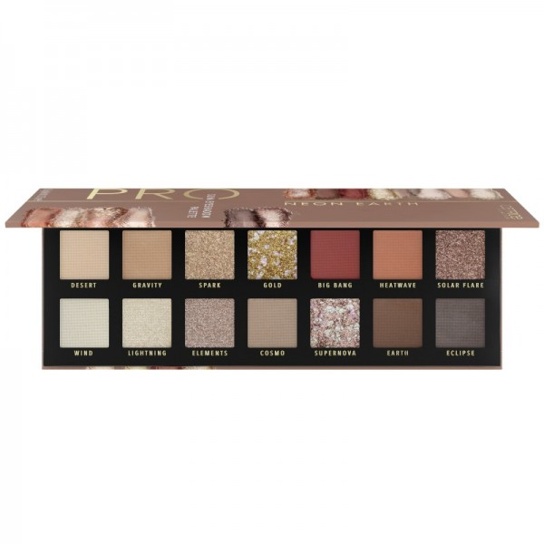 Catrice - Pro Neon Earth Slim Eyeshadow Palette 010 - Elements Of Power