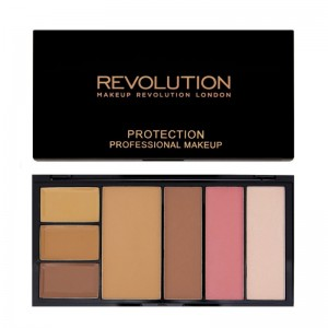 Makeup Revolution - Make Up Palette - Protection Palette - Medium/Dark