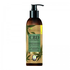 Bielenda - Pulizia del viso - CBD Cannabidiol Face Cleansing Emulsion For Mixed And Greasy Skin