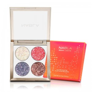 Nabla - Lidschattenpalette - Miami Lights Collection - Miami Lights Glitter Palette