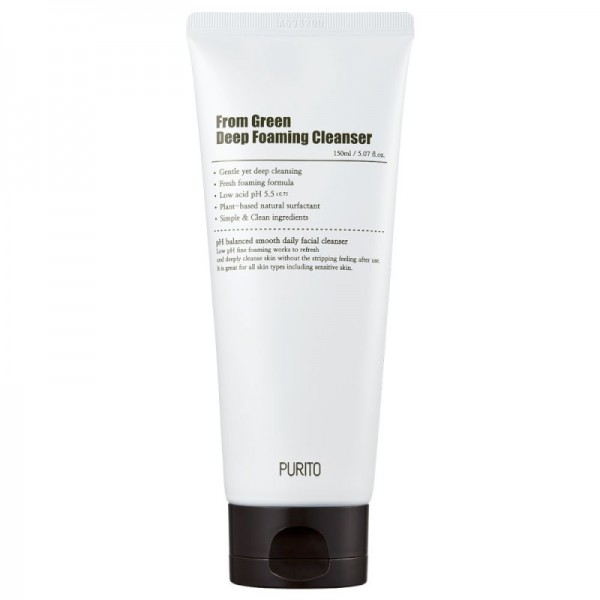 Purito - Schiuma detergente - From Green Deep Foaming Cleanser