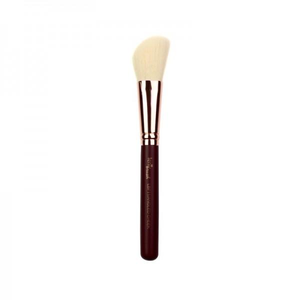 lenibrush - Kosmetikpinsel - Angled Cheek Brush - LBF11 - Midnight Plum Edition