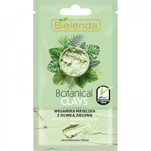 Bielenda - Botanical Clays Vegan Mask With Green Clay 8 G
