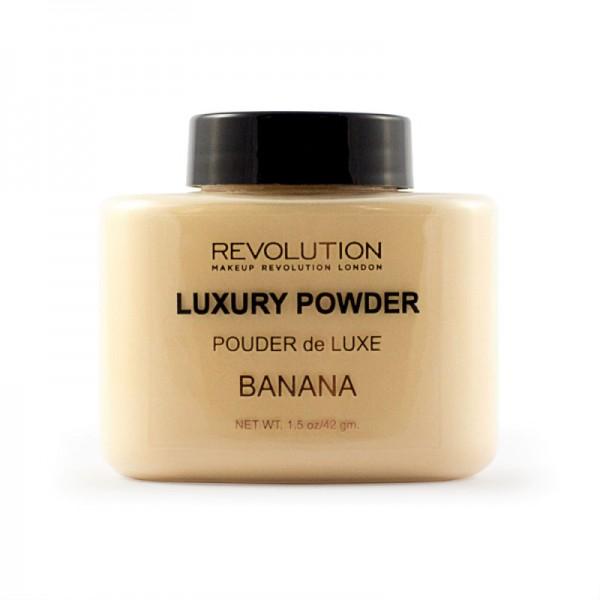 Makeup Revolution - Luxury Powder - Banana