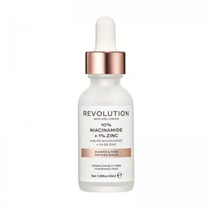 Revolution - Serum - Skincare Blemish and Pore Refining Serum - 10% Niacinamide + 1% Zinc